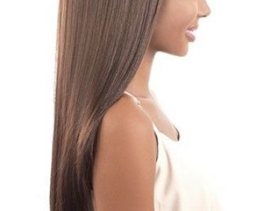 Straight Tress Long Hairstyles