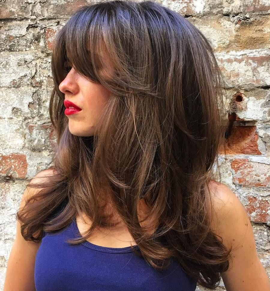 Stratified Strands Long Hairstyles