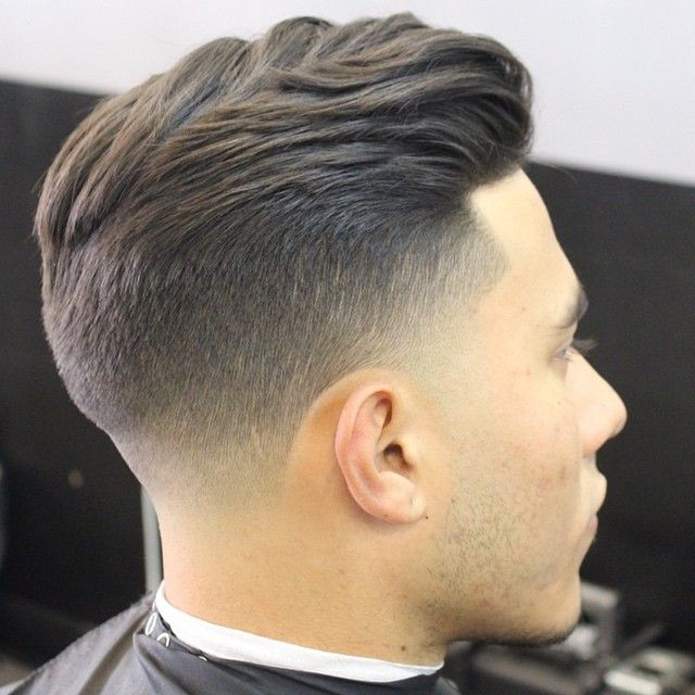 Taper Fade Hairstyle for Men 2018