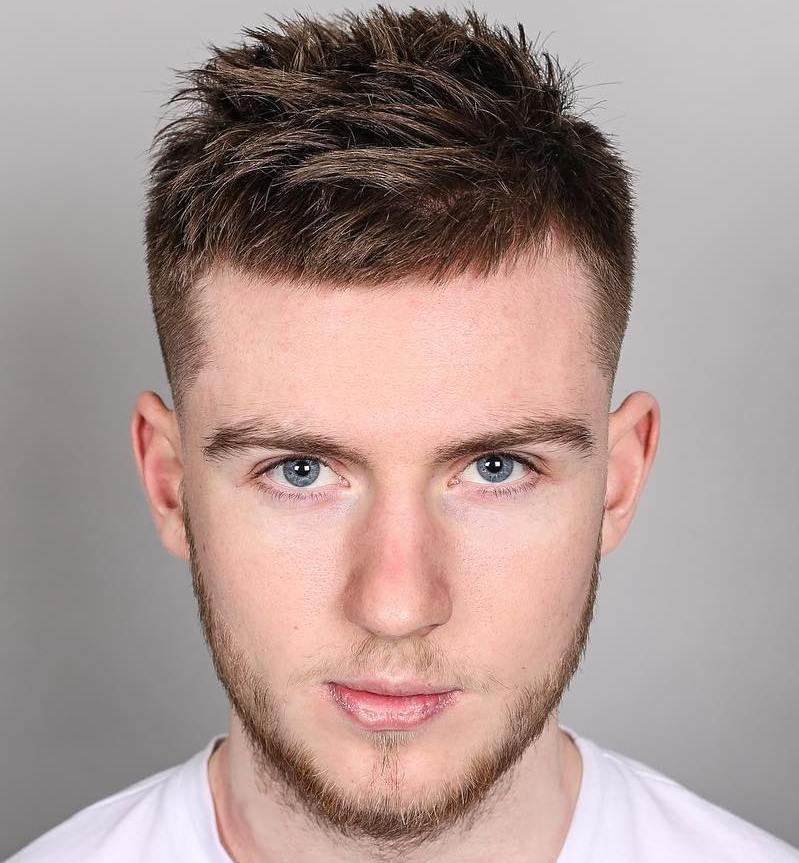 Thick Spikes Hairstyle for Men 2018