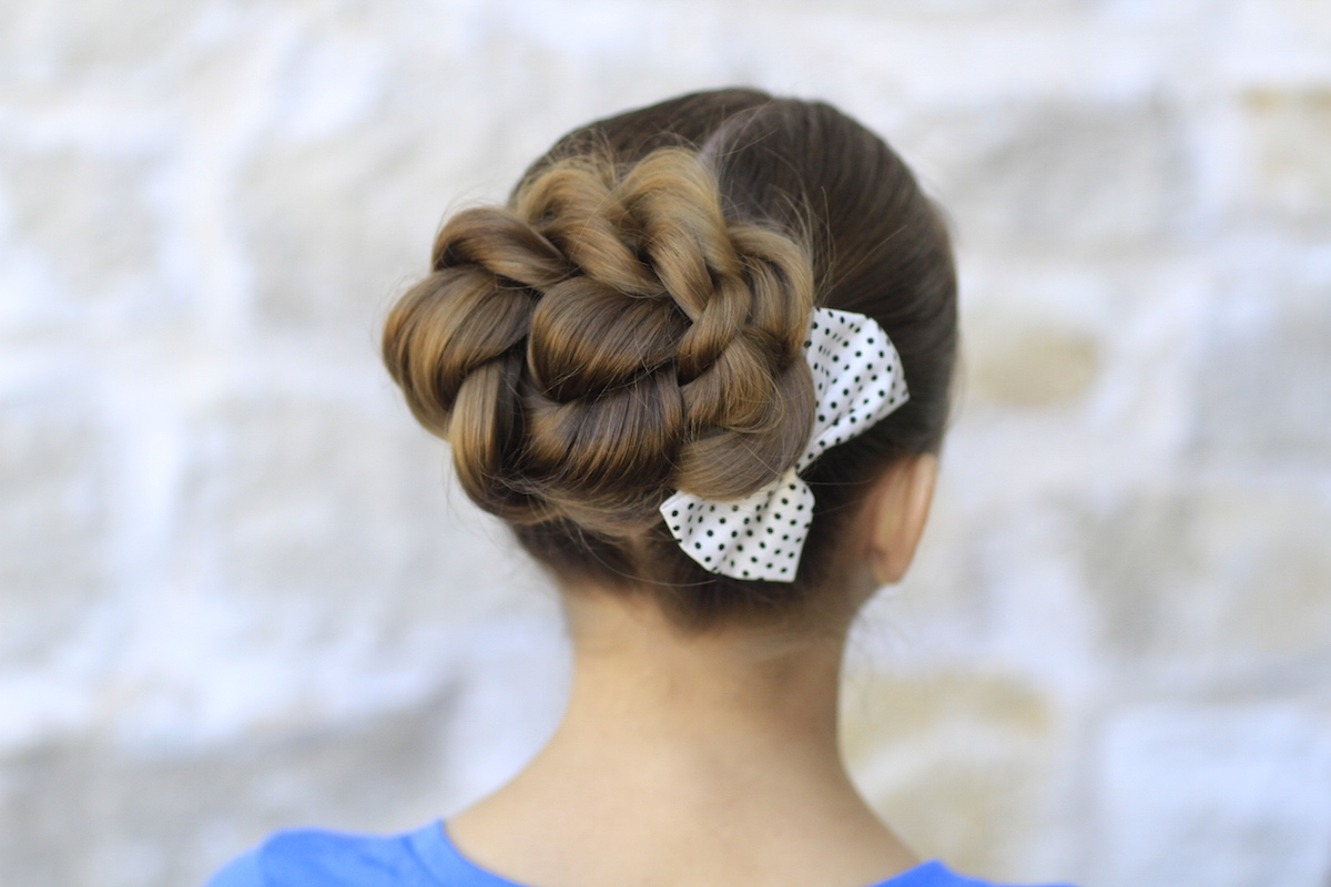 Twisted Bun Long Hairstyles