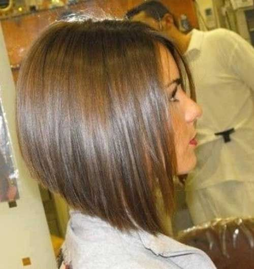 angled bob hairstyles for girls with medium hair