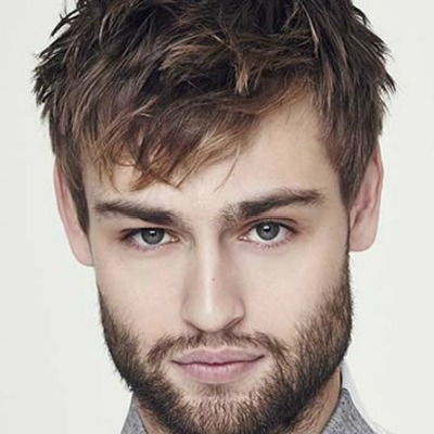 textured fringe Hairstyle for Men 2018