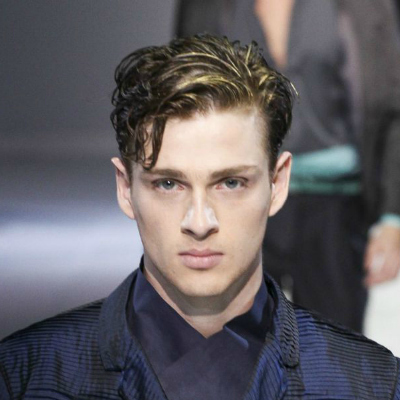 wavy side part Hairstyles for Boys