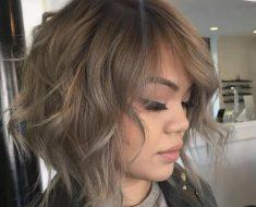 wispy bob cut Hairstyles for Girls with Medium Hair