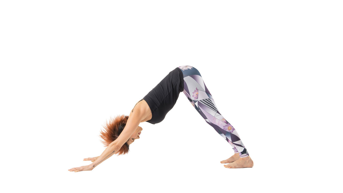 Downward Dog Position 3 Inches In 1 Week