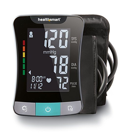 HealthSmart Premium Series Talking Monitor Heart Health Product Discount