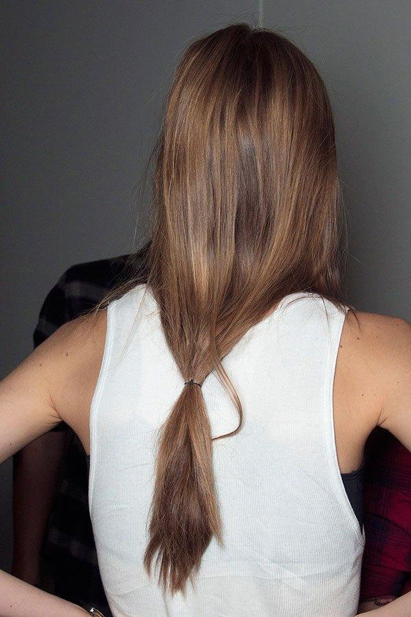 Loose Ponytails Long Hair