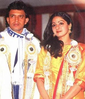 Mithun Sridevi Extra Marrital Affair