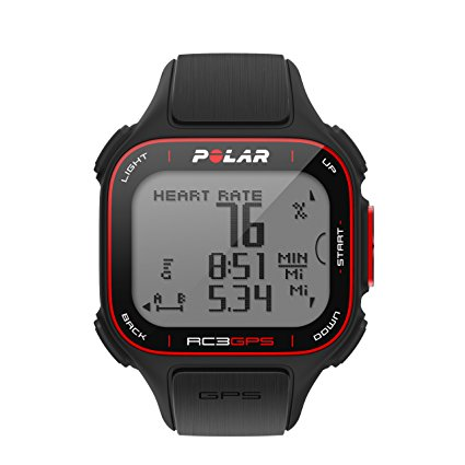 Polar RC3 GPS Watch Heart Rate Monitor Review