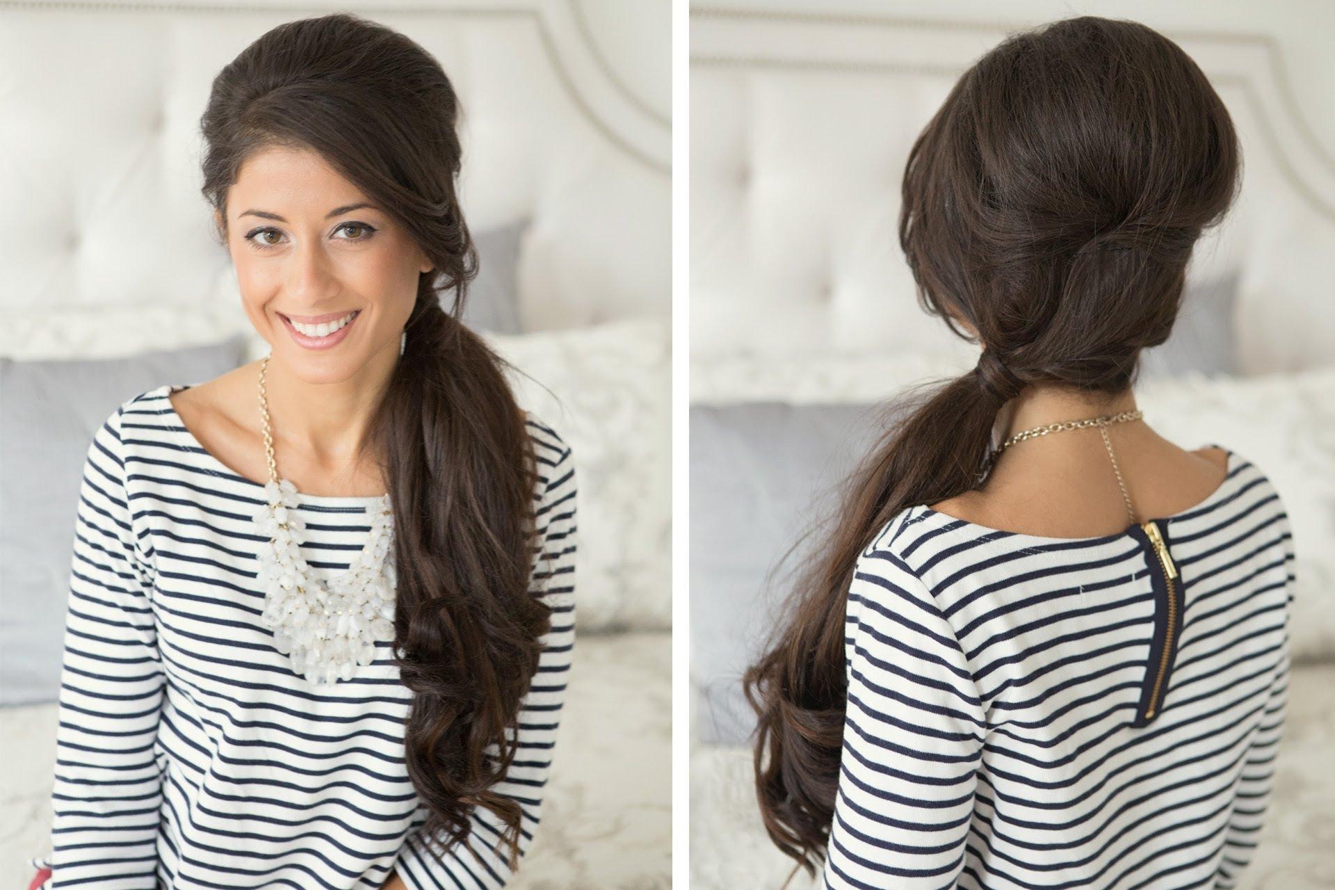 Side Ponytail Long Hair