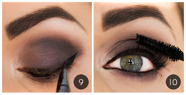 Step 12 Bottom Eye Makeup Best Eye Makeup