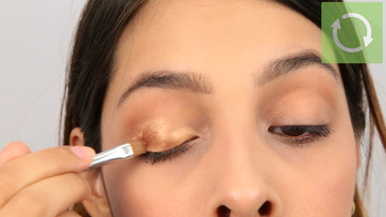 Step 7 Dampen the Brush Best Eye Makeup