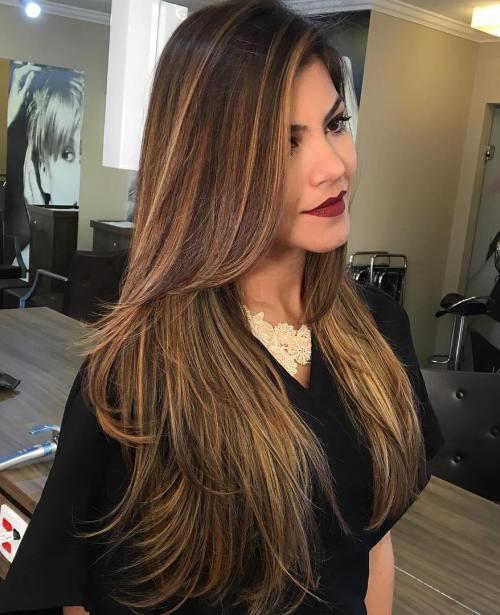 Straight Tresses Long Hair