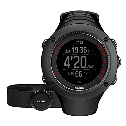 Suunto Ambit3 Run HR Heart Rate Monitor Review