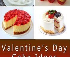 Valentine's Day Cake Ideas 2018
