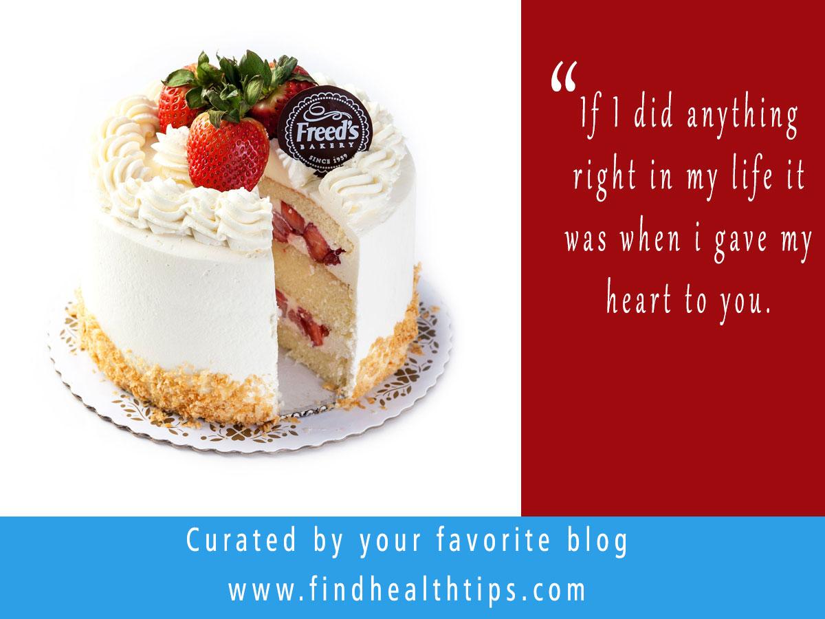 Valentine's Day Cake Quotes