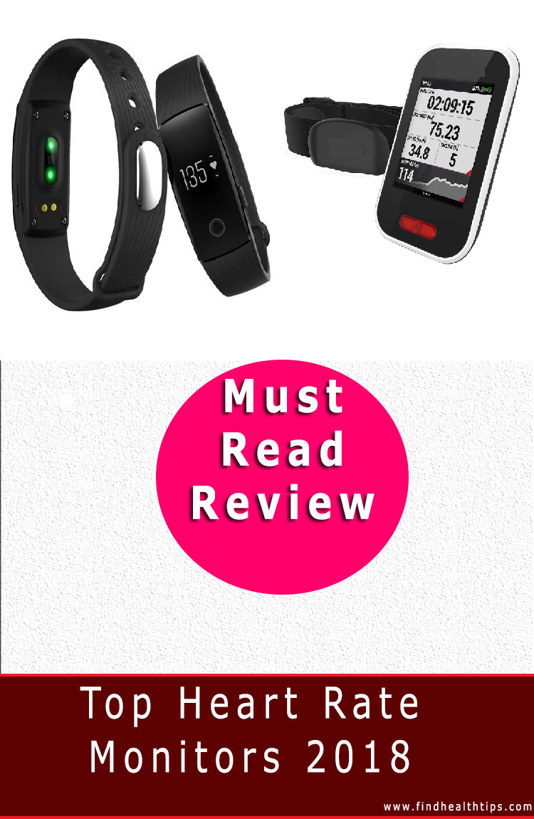 heart rate health monitors 2018