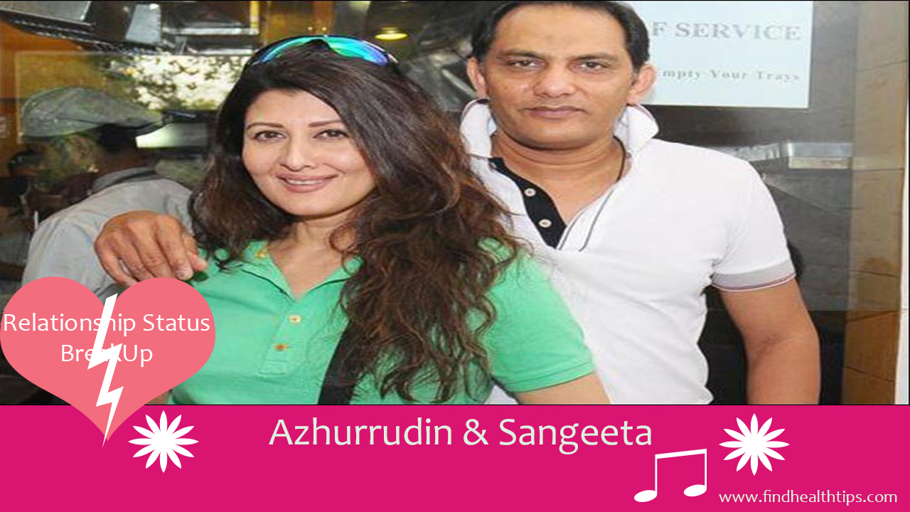 Azharuddin and Sangeeta cricketers who married celebrities