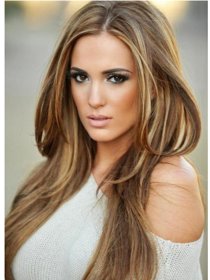 Cool Caramel Hair COlor