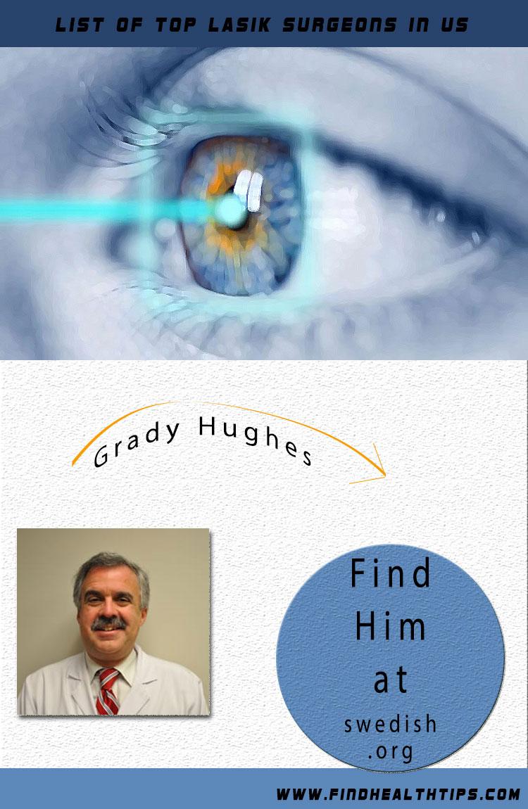 Grady M. Hughes lasik eyes surgeon
