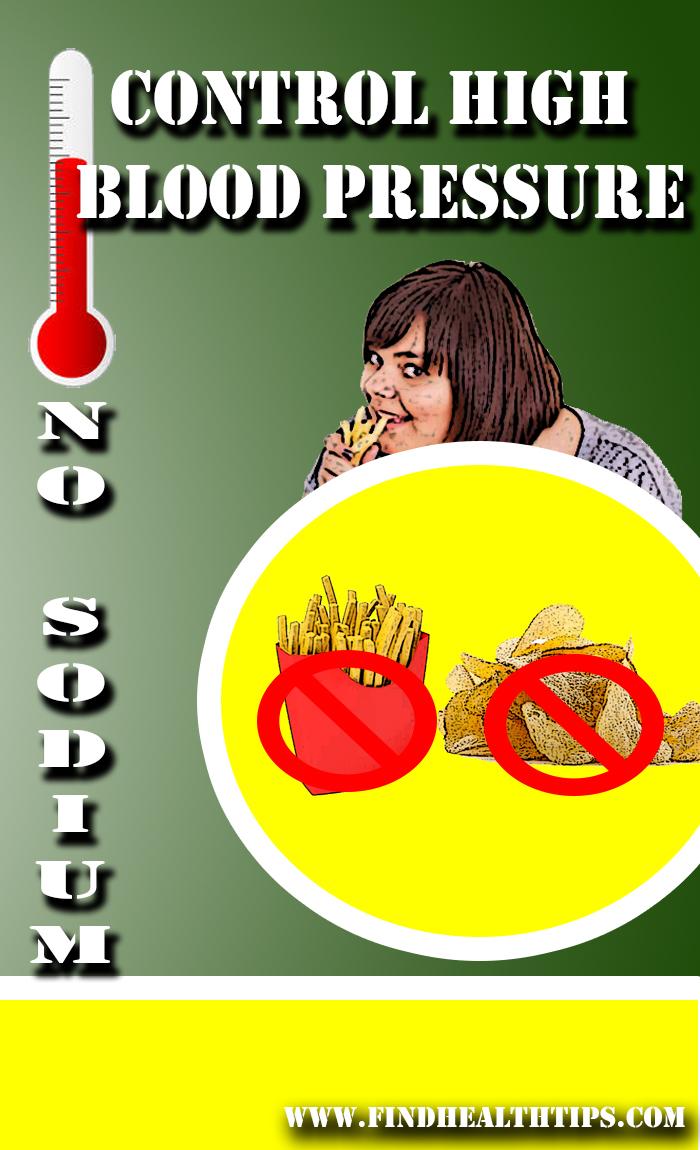 Prevent High BP by avoiding sodium