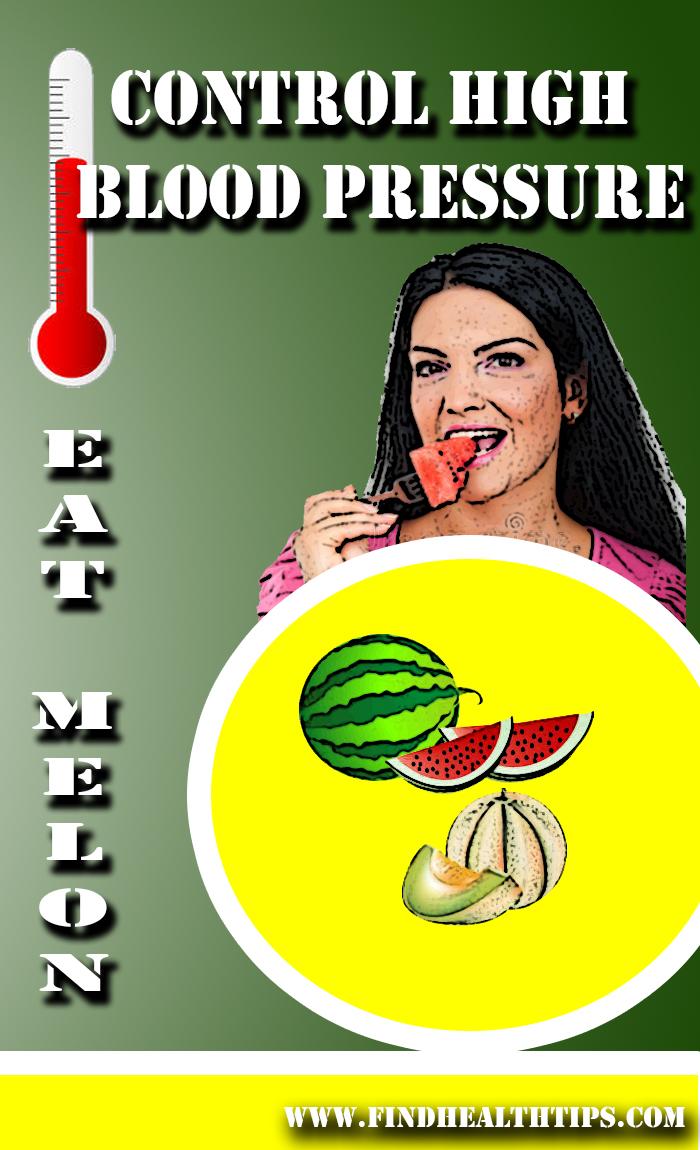 Prevent High BP Eat Melon