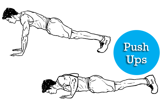 Push ups full body workout
