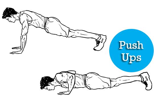 Push ups full body workout