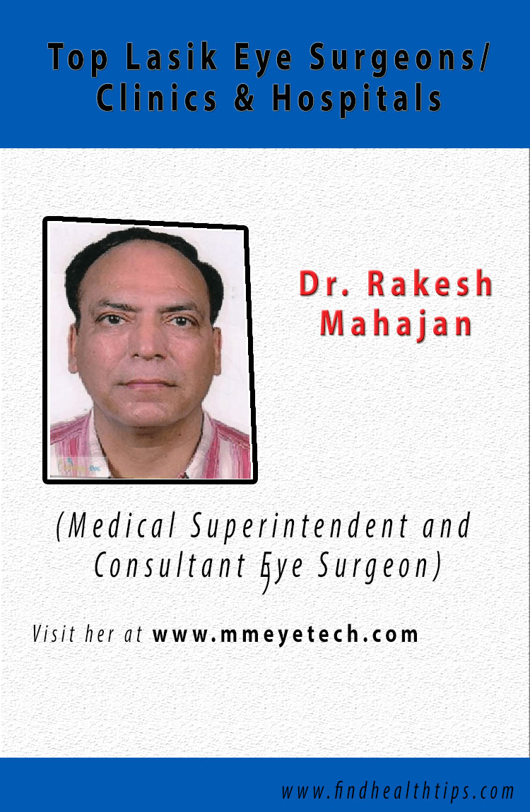 Rakesh Mahajan lasik eye surgeons