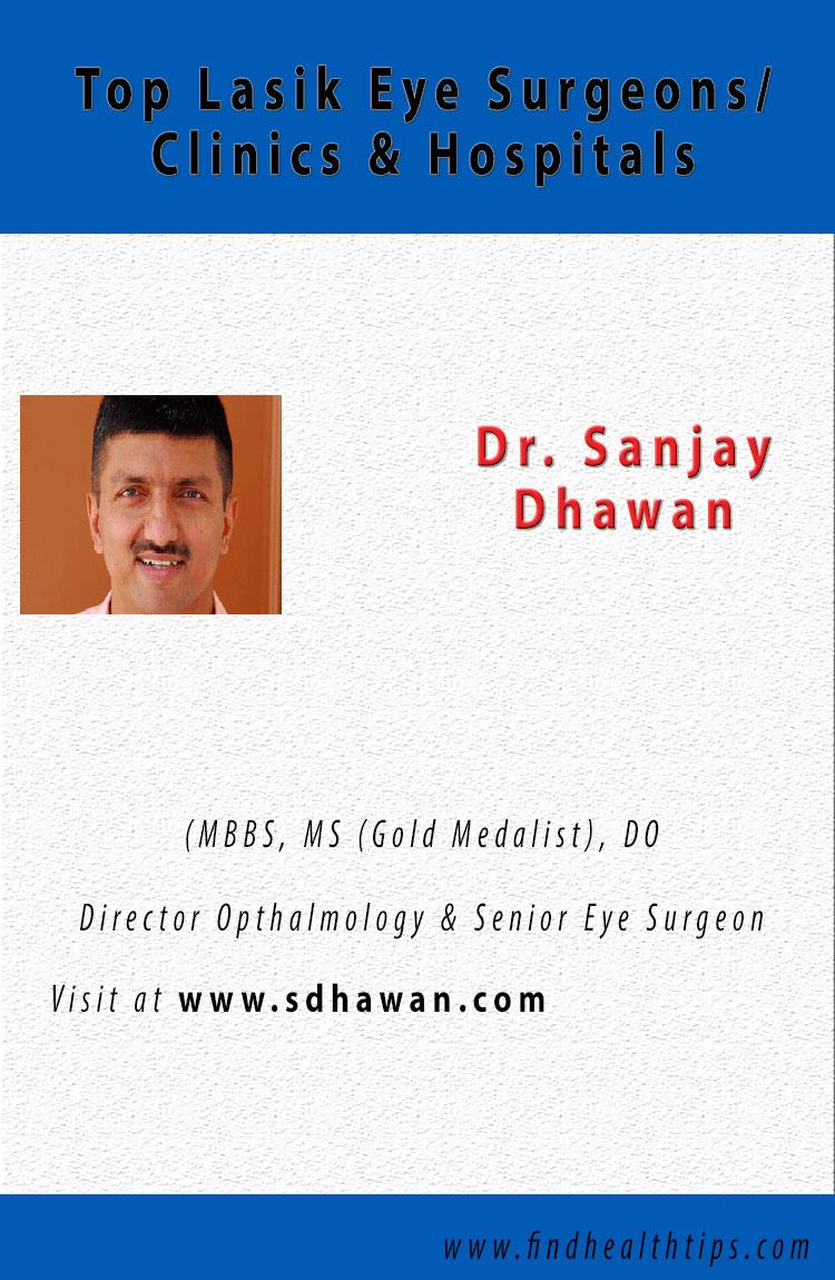Sanjay Dhawan Lasik Eye Surgeons