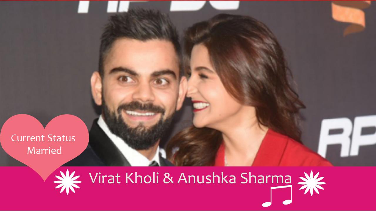 Virat Kholi Anushka Sharma cricketers who married celebrities
