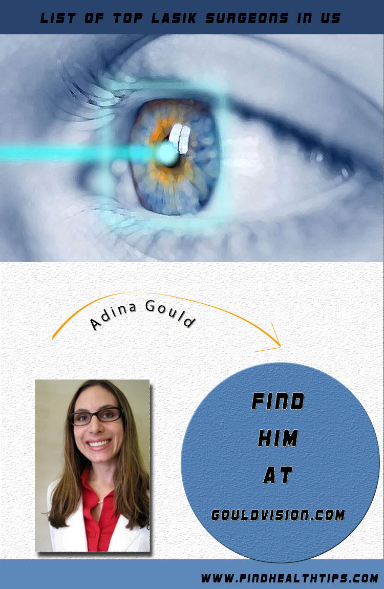 adina gould top lasik surgeon usa