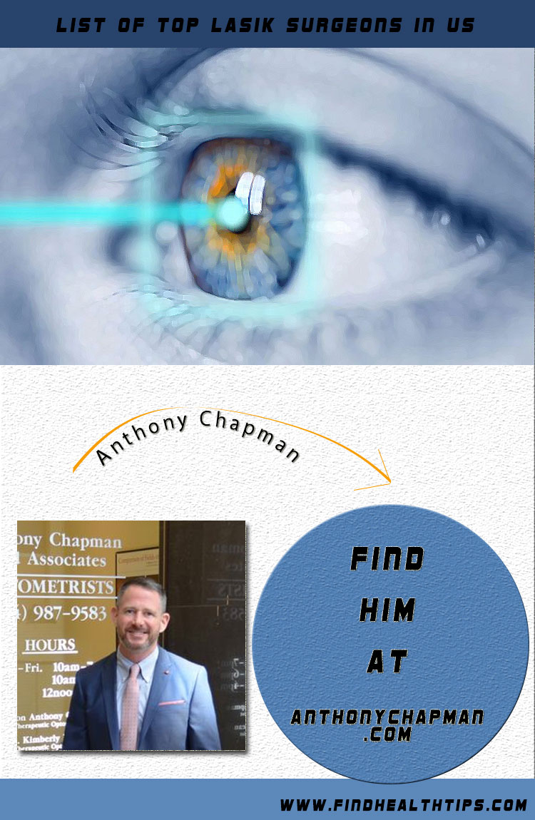anthony chapman top lasik surgeon usa