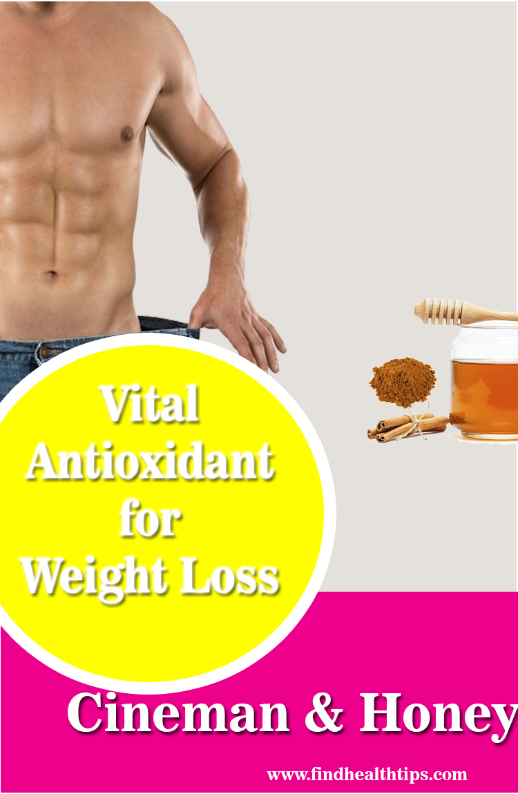 antioxidant in honey cinnamon weight loss