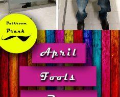 bathroom prank april fools day