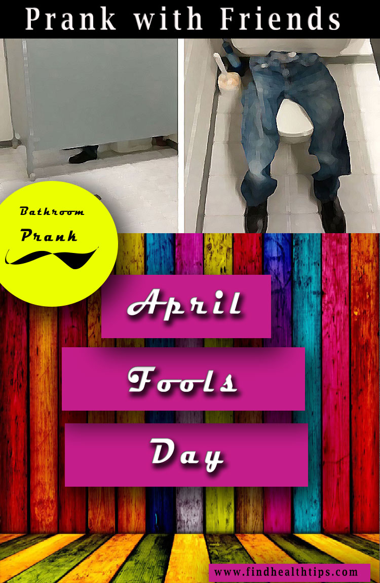 bathroom prank april fools day