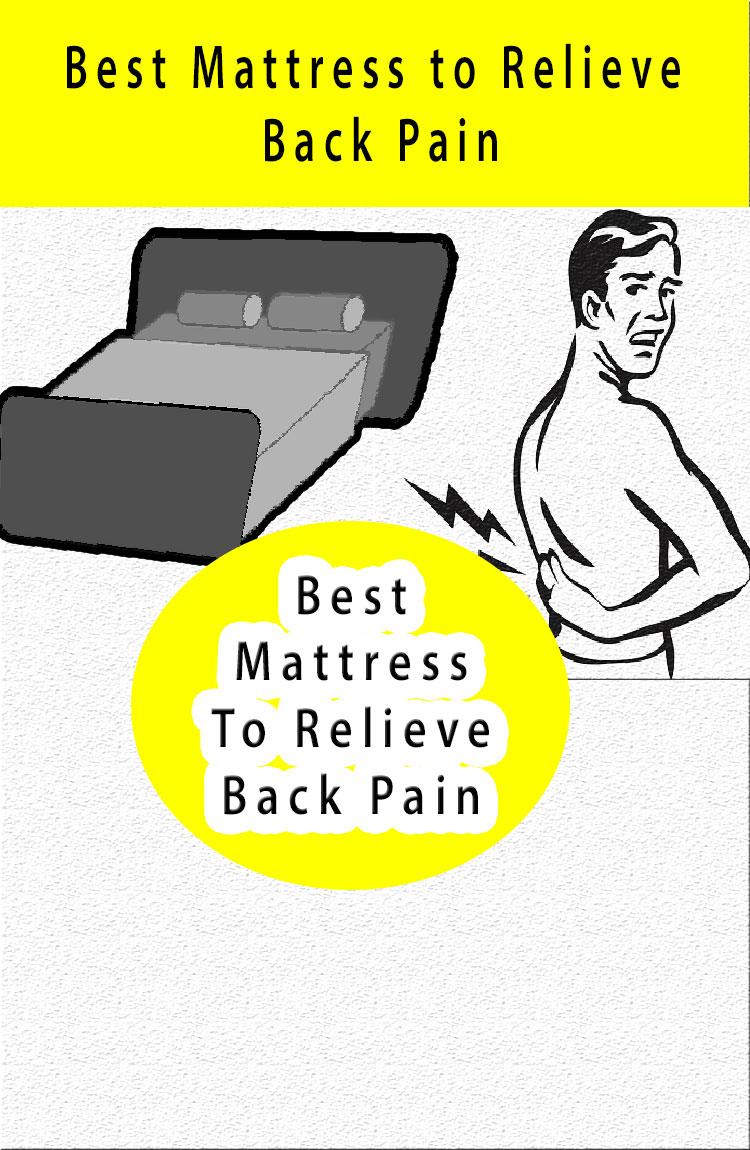 best mattress relieve back pain