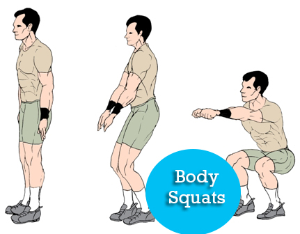 body squats full body workout
