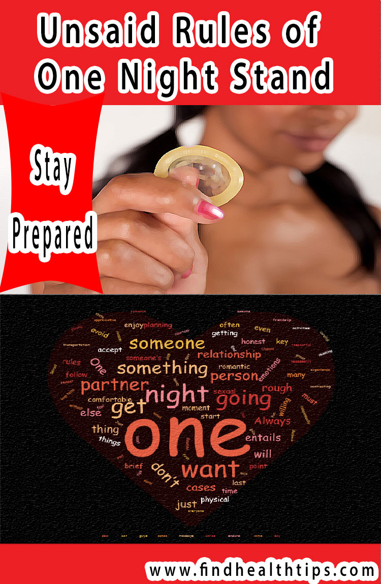 carry condom unsaid rules of one night stand
