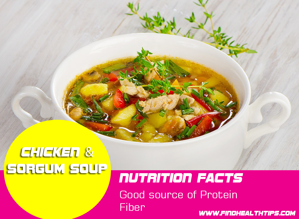 chicken sorgum weight loss soup