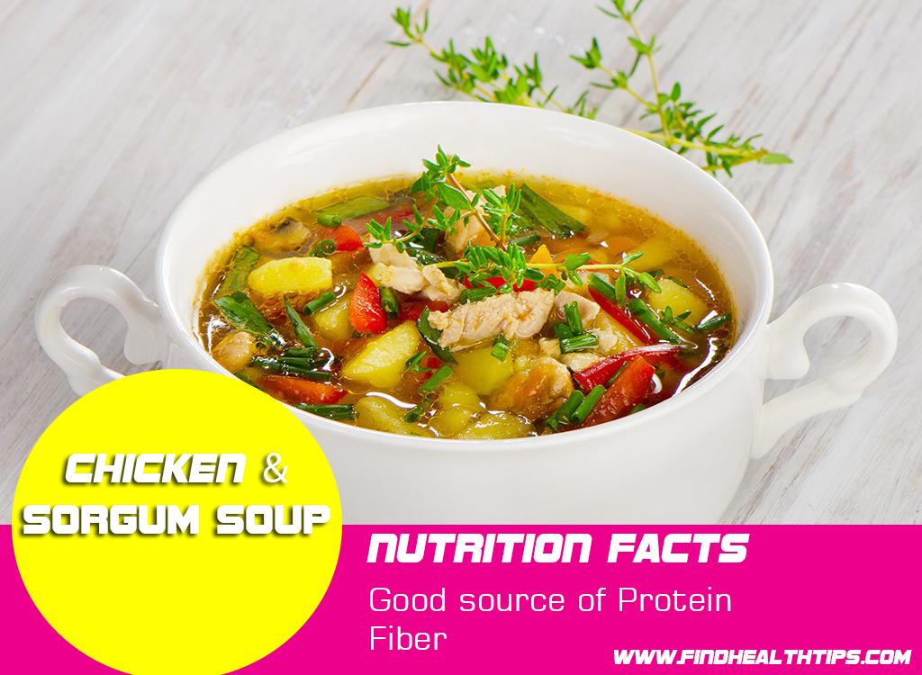 chicken sorgum weight loss soup