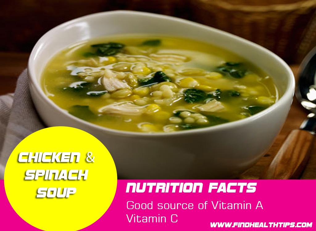 chicken spinach soups