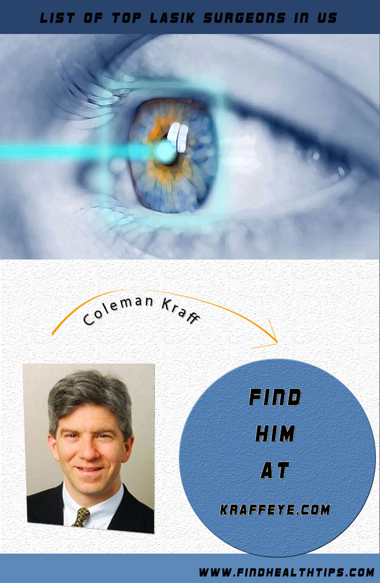 coleman kraff top lasik surgeon usa