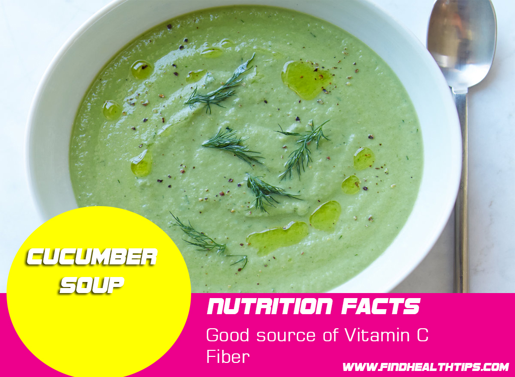 cucumber soup for weight loss