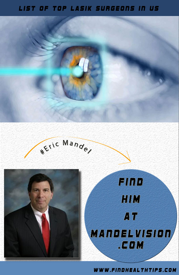 eric mandel top lasik surgeon usa