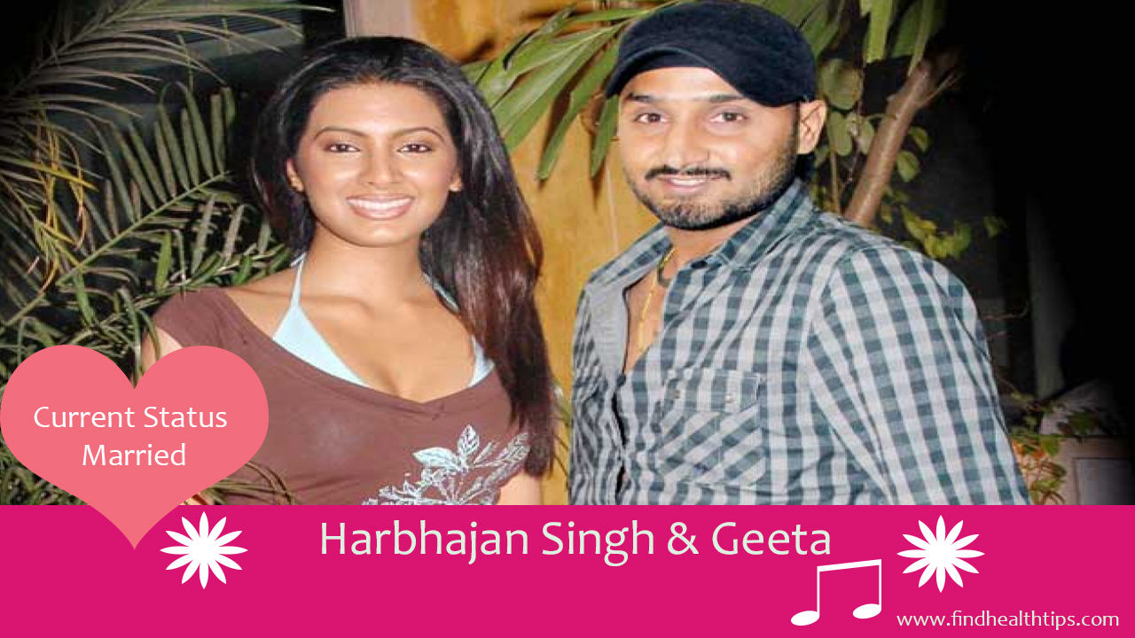 harbhajan singh geeta cricketers who married celebrities