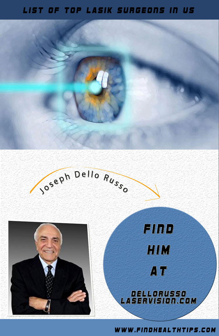 joseph dell russo top lasik surgeon usa