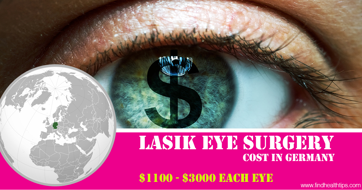 lasik eye surgery cost in Germany