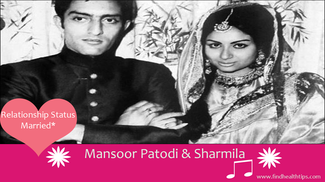 mansoor patodi sharmila cricketers who married celebrities